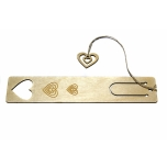 "Bookmark ""Three hearts"" JH27"