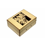 "Business card box ""Flowers"" KK44"