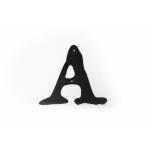 Metal letter ''A'' Met letter A