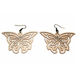 "Earrings ""Butterflies"" 3 Thin"