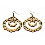 "Earrings ""Two-piece ornament"""