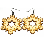 "Earrings ""Hexagon"""