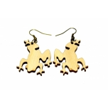 "Earrings ""Frog"""