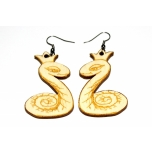 "Earrings ""Snake king"""
