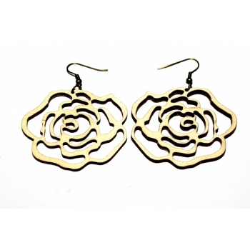 """Earrings """"Rose"""" KÕ01"""