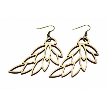 """Earrings """"Leaves"""" KÕ18"""