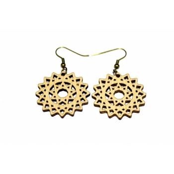 """Earrings """"Flower"""" KÕ23"""