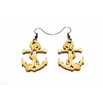 "Earrings ""Anchor"" KÕ24"