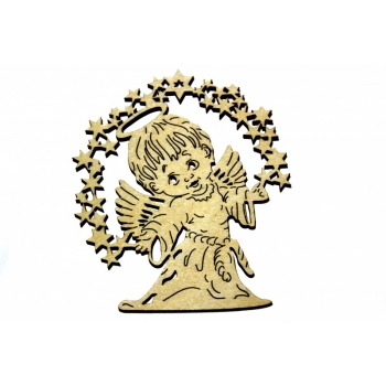 Picture ''Angel with stars'' P15