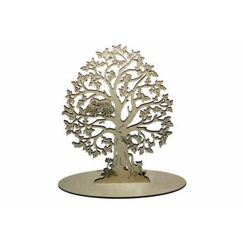 "Jewellery tree ""With owls'' EP03"