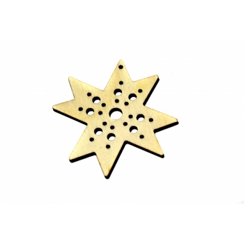 """Pendant """"Octagon with holes"""""""