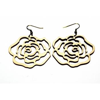 "Earrings ""Rose"" KÕ01 Small"