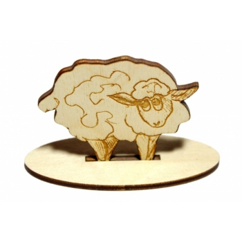 Sheep on a base