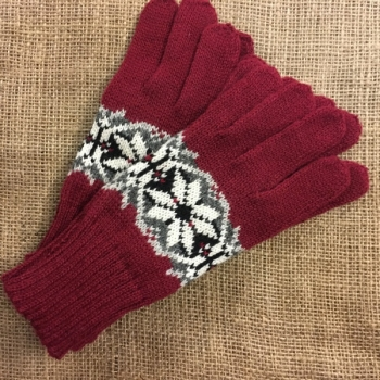 Glove wool thin