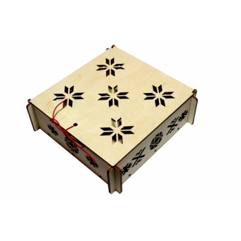 Box with lid ''Patterned' KK47