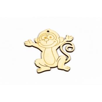 "Pendant ""Monkeys"" R18"
