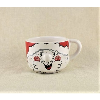 Mug with nose Santa Claus