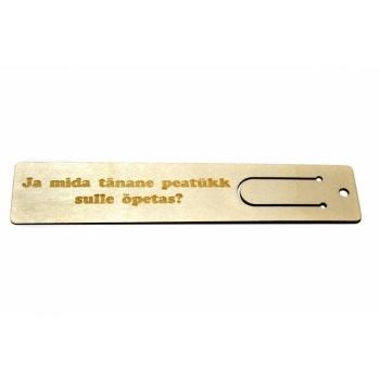 """Bookmark """"Tänane peatükk"""" JH15"""