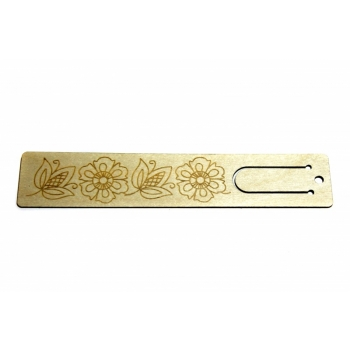 "Bookmark ""Floral pattern"" JH16"