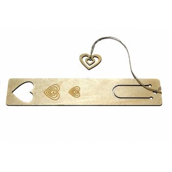 """Bookmark """"Three hearts"""" JH27"""