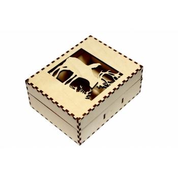 "Business card box ""Moose"" KK45"