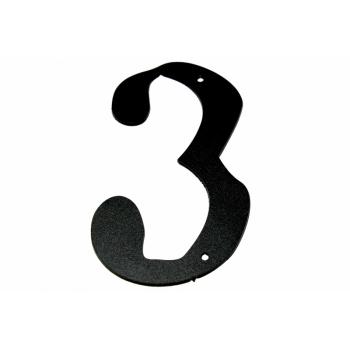 Metal number ''3'' Met nr 3
