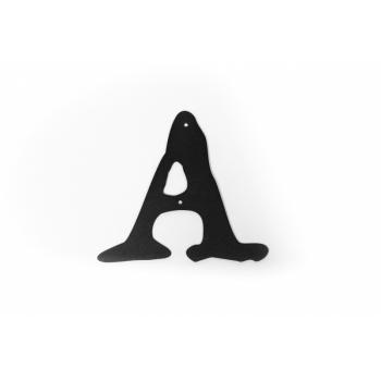 Metal letter ''A'' Met täht A