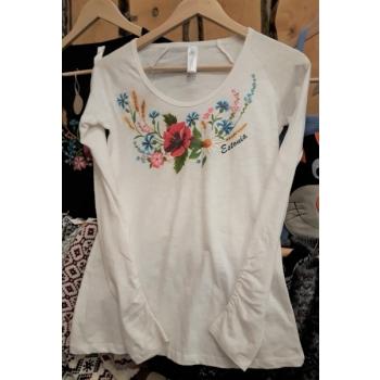 Women's long-sleeved blouse