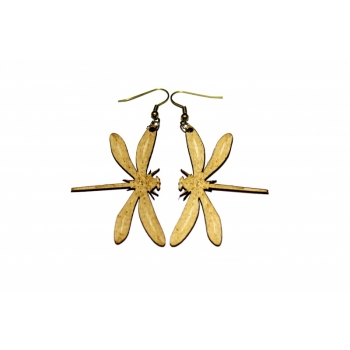 """Earrings """"Dragonfly"""" KÕ62 Thin"""