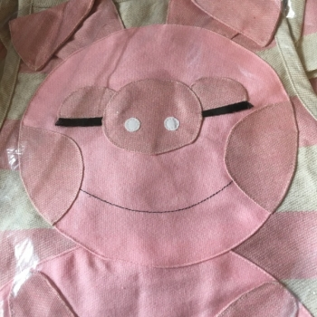 Apron Pig pink