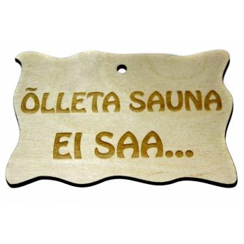 """Silt """"Õlleta sauna ei saa..."""" VS43"""