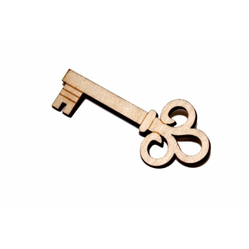 Brooch ''Key''