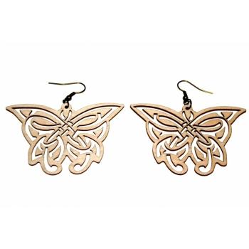 """Earrings """"Butterflies"""" KÕ85 Thin"""
