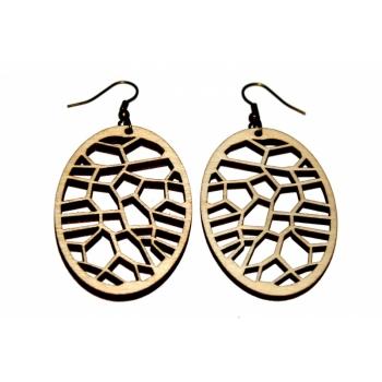 """Earrings """"Shield"""" KÕ81"""