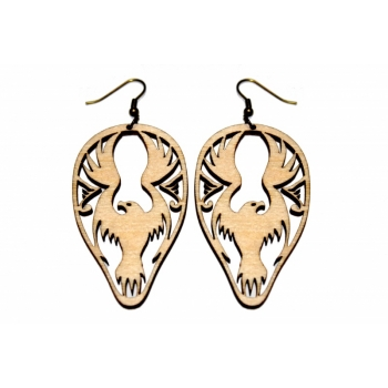 "Earrings ""Eagle"""