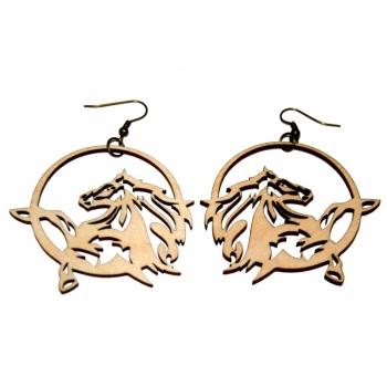 "Earrings ""Horse"" KÕ91"