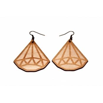"""Earrings """"Crystal"""" KÕ98"""