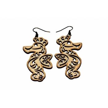 """Earrings """"Seahorse"""""""