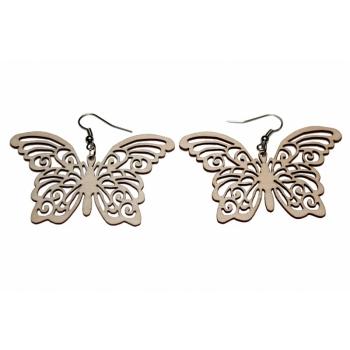 """Earrings """"Butterflies"""" KÕ71 Thin"""