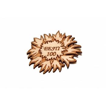 """Magnet """"Cornflower Estonia 100"""""""