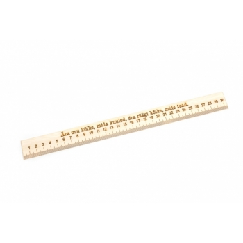 Ruler with thread 30 cm EJE JL02h