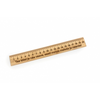 Ruler with thread 20 cm EJE JL05h