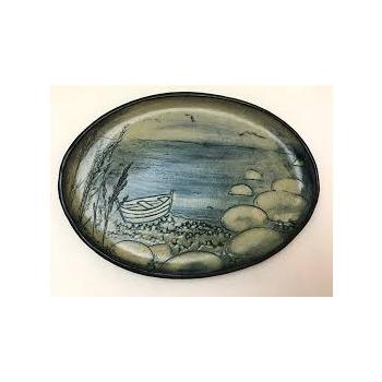 Plate / bowl ceramic birds / nature