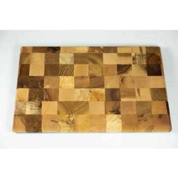 Cutting board mosaic