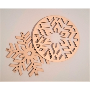 """Christmas decoration """"E67"""" 2 in one"""