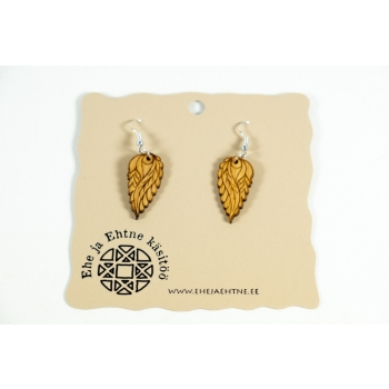 "Earrings ""Small leaves"" KÕ56b"