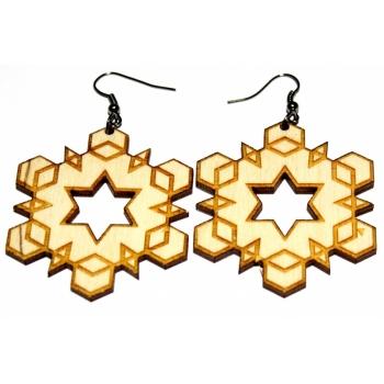 "Earrings ""Hexagon"""