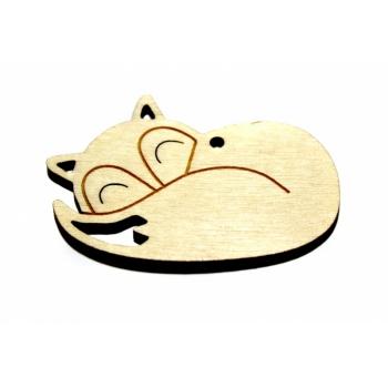 "Pendant ""Sleeping Fox"""