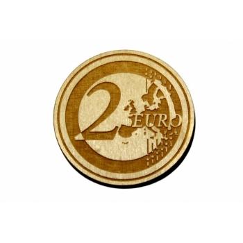 "Magnet ""2 euros"""