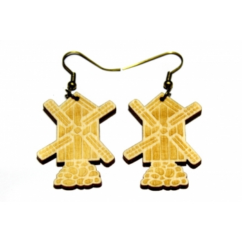 "Earrings ""Mill"""